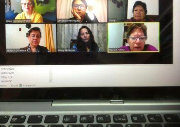 1 reunion Dpto nacional de cultura video conferencia